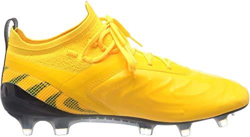PUMA One 20.1 FG/AG, Botas de fútbol para Hombre, Amarillo (Ultra Yellow Black/Orange Alert), 45 EU