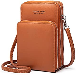 محفظة جلد بسعة كبيرة للنساء، للبطاقات والهويات من فور ايفر يانج