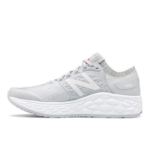 New Balance Women's Fresh Foam Vongo V4 Running Shoe, Light Aluminum/White, 9 B US