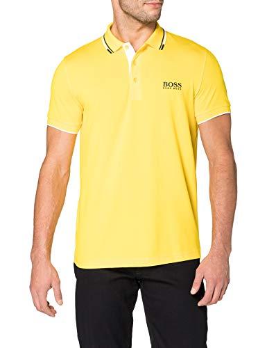 BOSS Paddy Pro 10226584 01 Camisa de Polo, Amarillo Mediano, L para Hombre