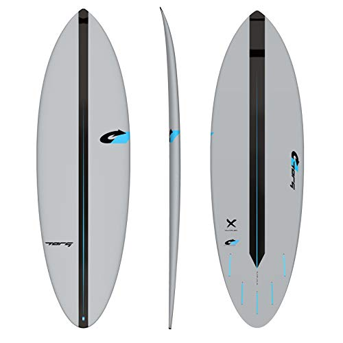 TORQ Multiplier Act prepreg Tabla de Surf - Gris, 6.0 FT