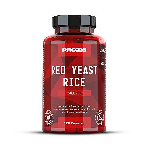 Prozis Red Yeast Rice, Fuente de Monacolina K - 120 Cá