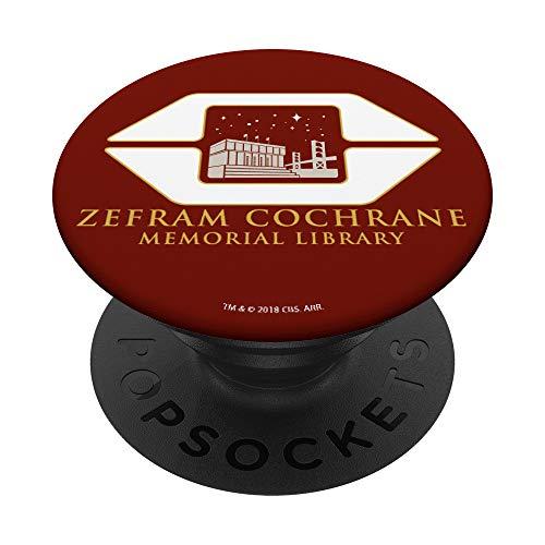 Star Trek Zefram Cochrane Memorial Library - PopSockets Ausziehbarer Sockel & Handgriff für Smartphones & Tablets