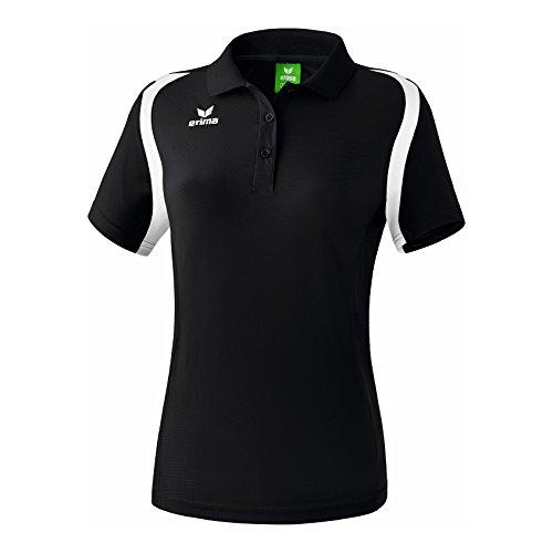 Erima Razor 2.0 koszulka polo damska czarny czarno-biały 36