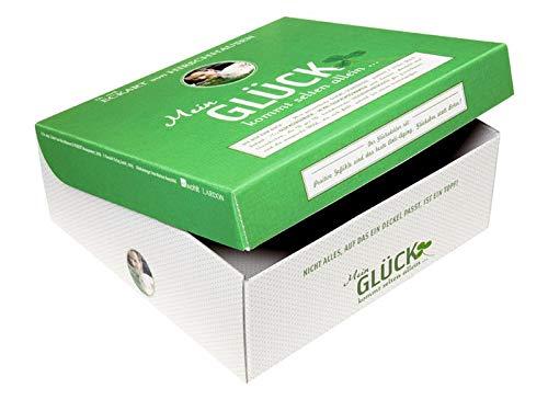 Mein Glück kommt selten allein...: Glücksbox enthält ein Tagebuch, Postkartenset, Tasse, Tee und CD in Einsteckhülle