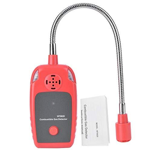 Hochempfindlichkeitstest Erdgasleckalarm Gasleckdetektor WT8820 Gasdetektor Brenngasdetektor Erdgaslecktester für den Einsatz zu Hause