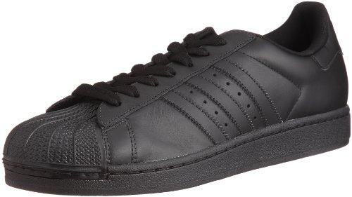 adidas Originals Men's Superstar Sneaker, Black