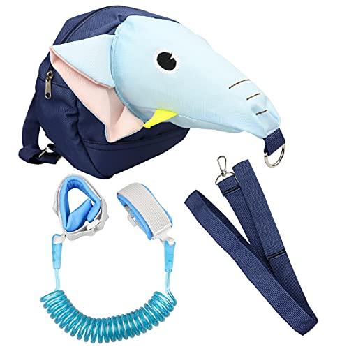 3-in-1 Kinder Rucksack Anti-verloren Sicherheitsrucksack Anti-Verloren Handgelenk Gürtel für Kleinkinder Sicherheitsleine Handgelenk 2m Leine Strap)