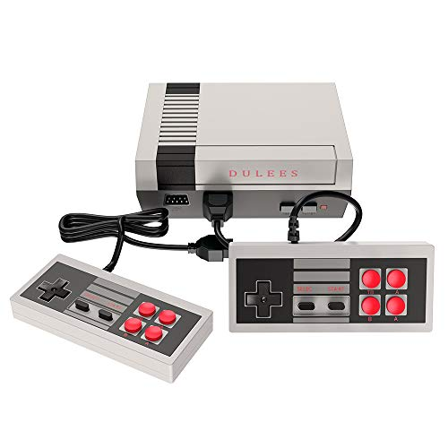 DULEES Retro Video Games Console,AV Output NES Console Built-in Hundreds of Classic Old Video Games,Nostalgia Memories of Childhood.