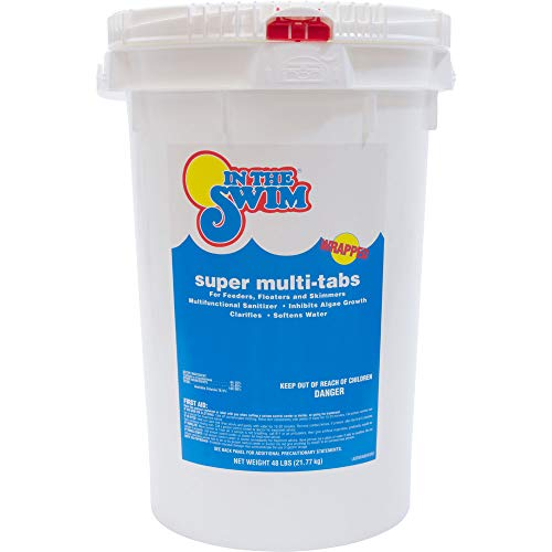 In The Swim 3-Inch Super Multi-Tabs Chlorine Tablets - 48 Pounds