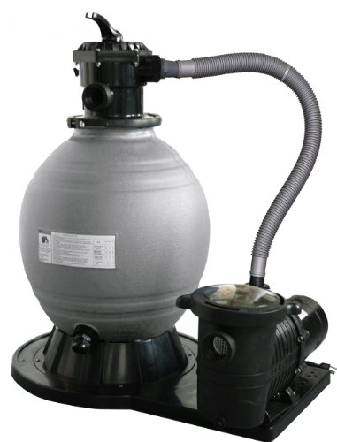 Blue Wave 22-Inch Sand Filter System with 1-1/2 HP Pump