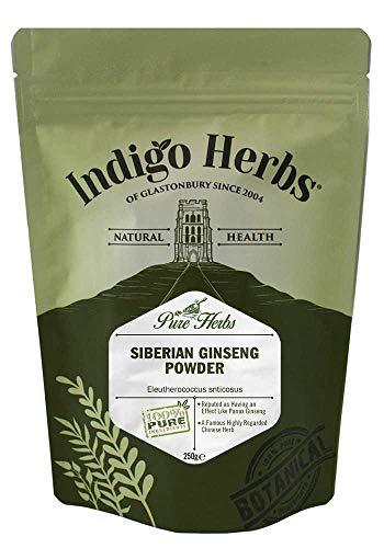 Indigo Herbs Polvo de Ginseng Siberiano (Eleutheroccocus) 250g