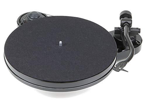 Pro-Ject RPM 1 Carbon Plattenspieler mit Riemenantrieb, Schwarz, ohne Tonabnehmer