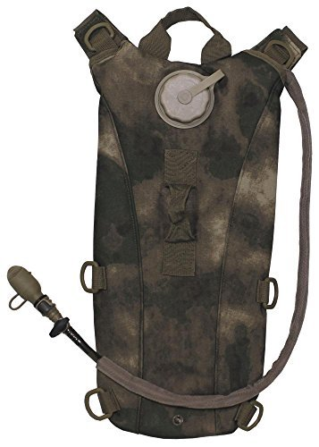 MFH Hydration Pack Rucksack Style Water Bladder HDT Foliage Green Camo