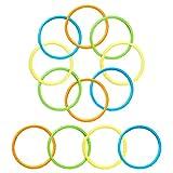 12 Pack Pool Diving Rings for Kids,...