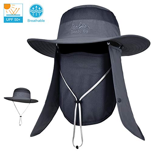 LCZTN Outdoor Sun Cap for Men & Women Breathable Fishing Hat