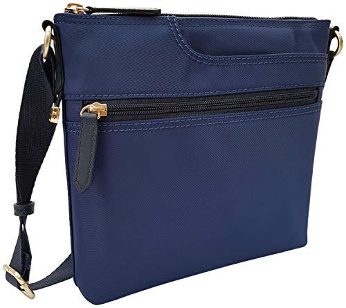 Radley Pocket Essentials Nylon Cross Body Shoulder Bag in Sapphire Blue