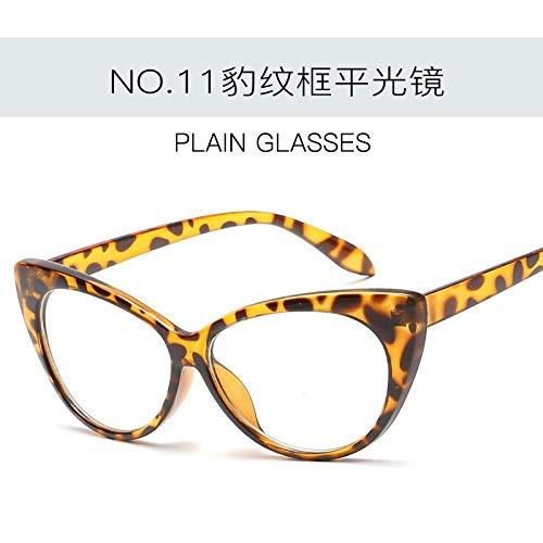 Gafas De Sol Gafas De Sol Retro Cat Eye Lady Gafas De Sol Retro Black Lady Girl C11