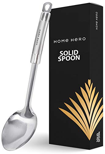 Large Cooking Spoon Basting Spoon Stainless Steel