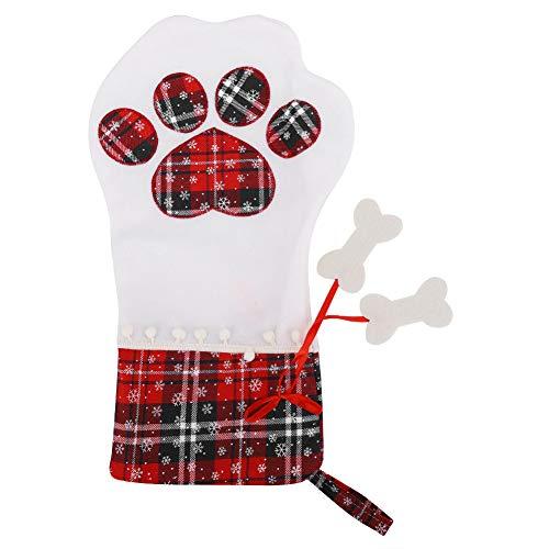 Lsaardth Calza di Natale per Animali Domestici, Sacchetti Regalo di Natale