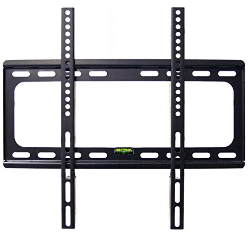 LCD LED Plasma Flat Screen TVs Wall Mount Flat Bracket, Costech TV Wall Mount for 32-60 Inches Flat Screen TVs with Load Capacity Up to 110 LBS and VESA from 200x200mm to 400x400mm