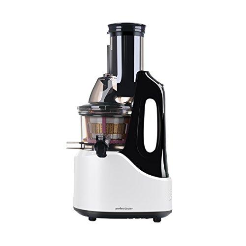 eldom Exprimidor de Baja Velocidad para Verduras y Frutas PJ1200 Juicer, 240W, Color Blanco