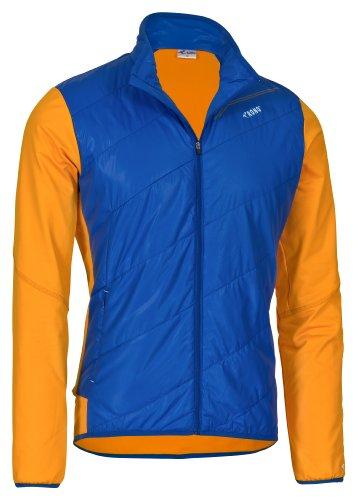 Rono Hybrid Primaloft Veste pour homme Bleu (3198) Bleu roi/orange Large