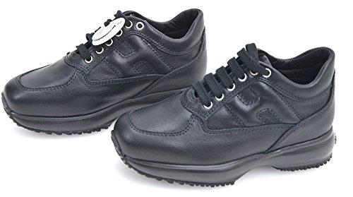 Hogan Junior Interactive Bambina Scarpa Sneaker Casual Art. HXC00N0001ECSRB999 29 Nero - Black