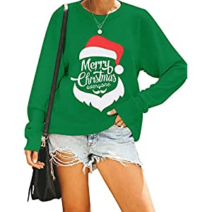 Blooming Jelly Women's Cute Long Sleeve Top Loose Mama Bear Crewneck Pullover Sweatshirt
