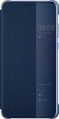 Huawei P20 Custodia Flip, Interattiva, Blu - 5.8 pollici