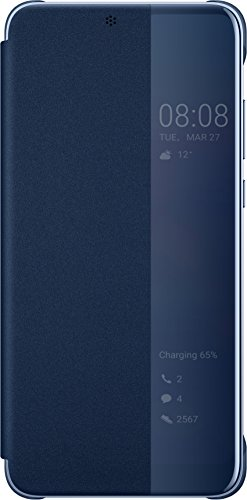 Huawei Smart View Flip Cover für P20, Deep Blue