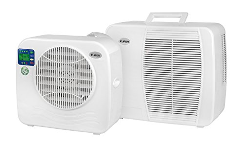 Euromac AC2400 Split Air Conditioning System White, 55 dB, 18.5 cm,...