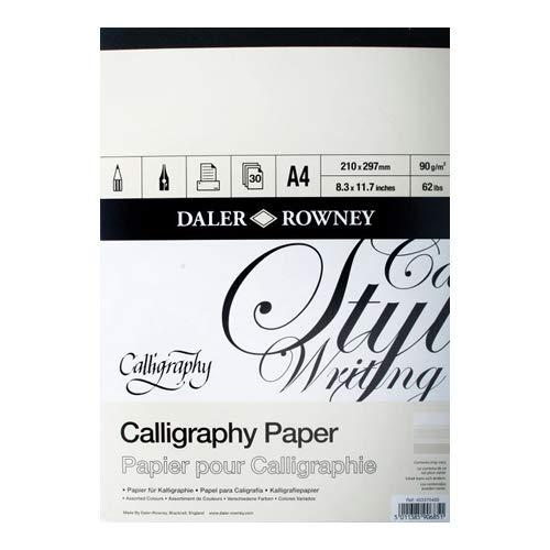 Kalligraphie-Block, A4, 90 g, 30SH
