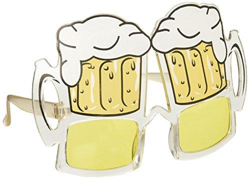 Occhiali bicchiere di birra