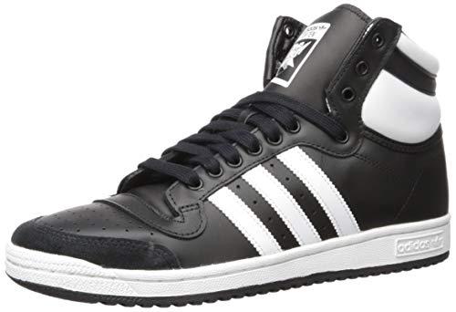 adidas Originals Top Ten Hi, Zapatillas Deportivas. Hombre, Core Black FTWR White Core Negro, 39.5 EU