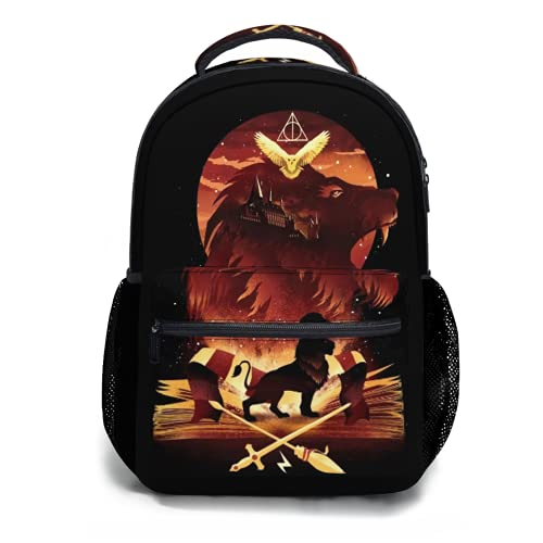 Toplived Jotaro The Star Adventure Mochila para niños, mochila para estudiantes, 47 cm, Colorido 4, Talla única