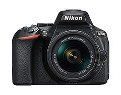 Nikon D5600 Kit AF-P DX 18-55 VR SLR Camera (8,1 cm (3,2 inch), 24,2 megapixels) zwart*