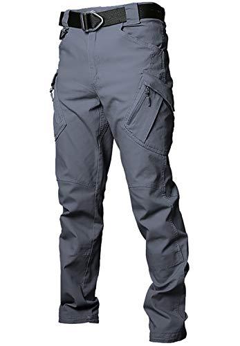 Gdtime Pantalon Cargo Homme de Travail Randonnée Sport Coton Militaire Pants