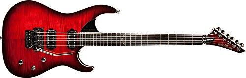 baratos y buenos Washburn PXS10FRDLXWB Guitarra eléctrica, rojo calidad