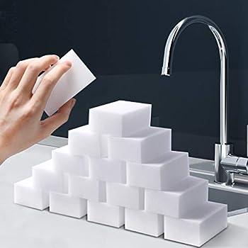 Hi.Power 60 Pcs/lot Extra Thick Magic Sponge Multi-Functional Melamine Foam Cleaning Pads 102x72x32mm