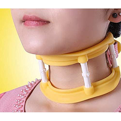 PINGJIA Collar Cervical, Soporte De Cuello Ajustable para Dolor De Columna, Alivio De Presión, Soporte para Dormir, Tritis