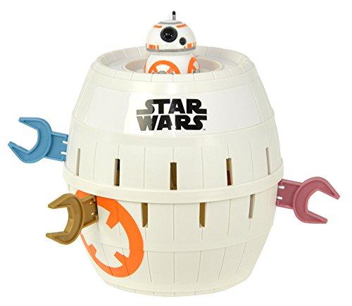 """TOMY T72643 - Kinderspiel """"Pop Up BB-8"""" - Hochwertiges Aktionsspiel für die ganze Familie – Star Wars Spiel Verfeinert Die Geschicklichkeit Ihres Kindes - ab 4 Jahre"""