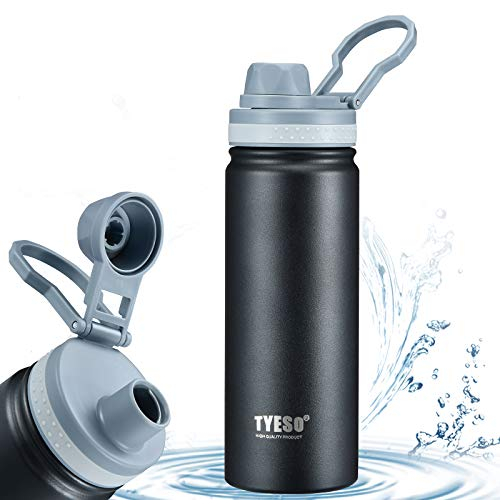 Stainless Steel Vacuum Insulated Water Bottle,Wide Mouth Metal Water...