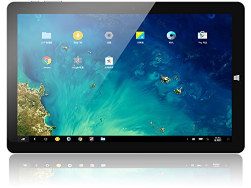 Chuwi Tablet PC Hi10 Pro 10.1 pollici Dual OS Windows10 Android5.1 4GB RAM 64GB ROM Ultrabook 2 in 1 Quattro-core Dual fotocamera IPS 1920 x 1200 Wi-Fi OTG, HDM, Type-C - Nero