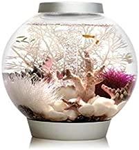 biOrb CLASSIC 15 Aquarium with LED - 4 gallon, Silver