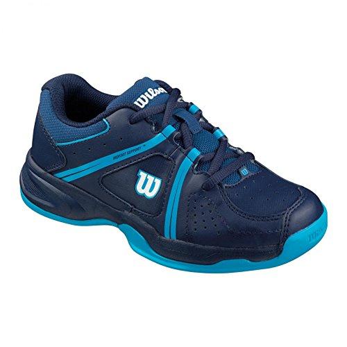 Wilson Envy Junior, Zapatillas de tenis Unisex niños, Azul
