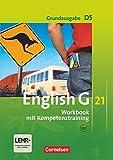 English G 21 - Grundausgabe D / Band 5: 9. Schuljahr - Workbook mit Audio-Materialien: Mit Wörterverzeichnis zum Wortschatz der Bände 1-5: Workbook ... zum Wortschatz der Bände 1-5
