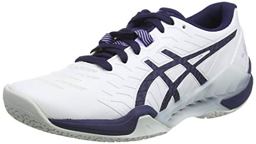 ASICS Damen 1072A046-100-7M Running Shoe, White Peacoat, 39 EU
