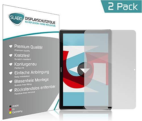 Slabo 2 x Bildschirmschutzfolie für Huawei MediaPad M5 | M5 Pro (10,8