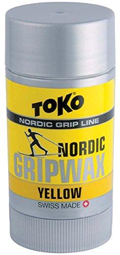TOKO Nordic Grip Wax YELLOW - von 0°C bis -2°C